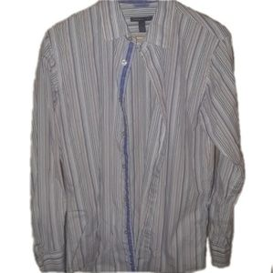Van Heusen striped button shirt slim fit
